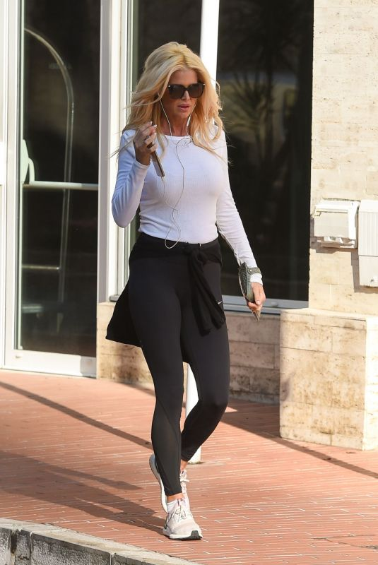 Victoria Silvstedt Out and about in Monaco