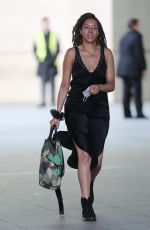 Yasmin Evans Steps Out From The BBC In A Silk Dress Being On Celebrity SAS TV Show