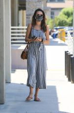 Alessandra Ambrosio Makes a trip to DermaCare Facial Clinic spa in Woodland Hills