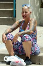 Amber Rose Out and about, Los Angeles