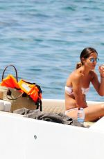 Ana Ivanovic On a yacht in Mallorca