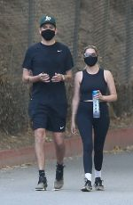 Ashley Benson On a hike in Los Angeles