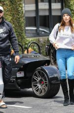 Ashley Greene Has lunch with her husband Paul Khoury at South Beverly Grill in Beverly Hills