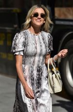 Ashley Roberts Leaving Heart Radio in London