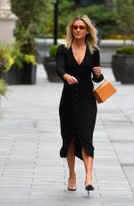 Ashley Roberts Seen at Global Offices in London