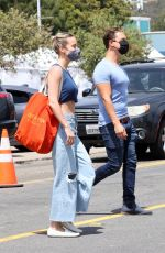 Brie Larson Shopping at the Malibu Market