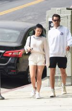 Camila Mendes and boyfriend Grayson Vaughan walk hand in hand as they step out in Los Angeles
