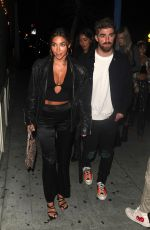 Chantel jeffries Arrives at Delilah in West Hollywood