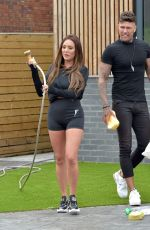 Charlotte Crosby Out in Newcastle