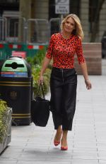 Charlotte Hawkins Pictured arriving at the Global Radio Studios in London