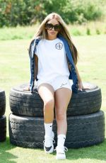 Chelsee Healey Pictured looking in good spirits while attending the HL13 Clothing Brand Shoot in Bolton