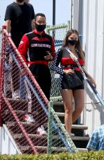 Chrissy Teigen At Go Kart World in Carson