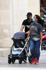 Christina Milian Seen on holiday in Paris