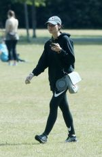 Christine Lampard Out and about, London