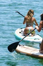 Cindy Prado and Lauren Goodman as they start off Memorial Day celebrations in Miami