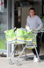 Coleen Rooney Looks somber while grocery shopping at Waitrose supermarket