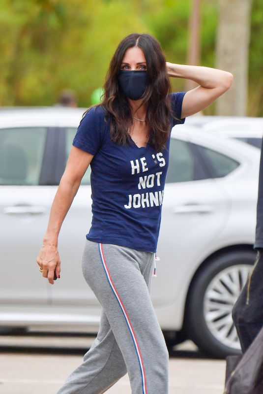 Courteney Cox Makes it clear that the guy she