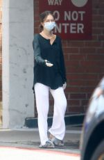 Delilah Hamlin Ditches her bra in typical Rinna fashion as she steps out in Beverly Hills