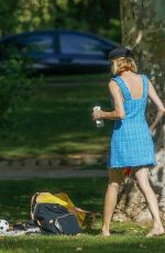 Diane Kruger Out in a park in Beverly Hills