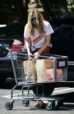 Elizabeth Olsen Steps out for a trip to Whole Foods in Los Angeles