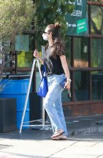 Emmy Rossum Out in West Hollywood