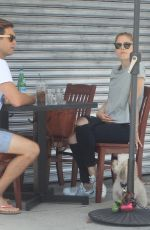 Erin Moriarty Out for lunch in Hollywood