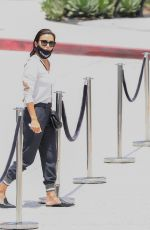 Eva Longoria Outside the Westfield Mall in Century City