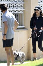 Eva Longoria Spends the day at the park with her family in Beverly Hills