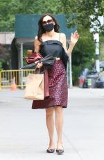 Famke Janssen Has nailed pandemic style in New York