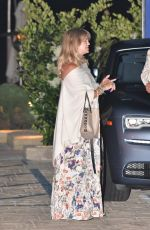 Goldie Hawn Out for dinner in Malibu