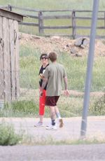 Hailey Bieber & Justin Bieber Spotted near a national park in Utah