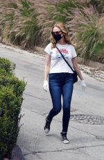 Heather Graham Out in LA