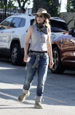 Helen Hunt Goes Survivor chic as she finishes her hike in Brentwood