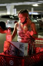 Hilary Duff Outside Target in Los Angeles