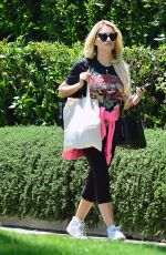 Holly Madison At a visit to a friends house in West Hollywood