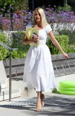 Holly Willoughby Outside This Morning studios in London