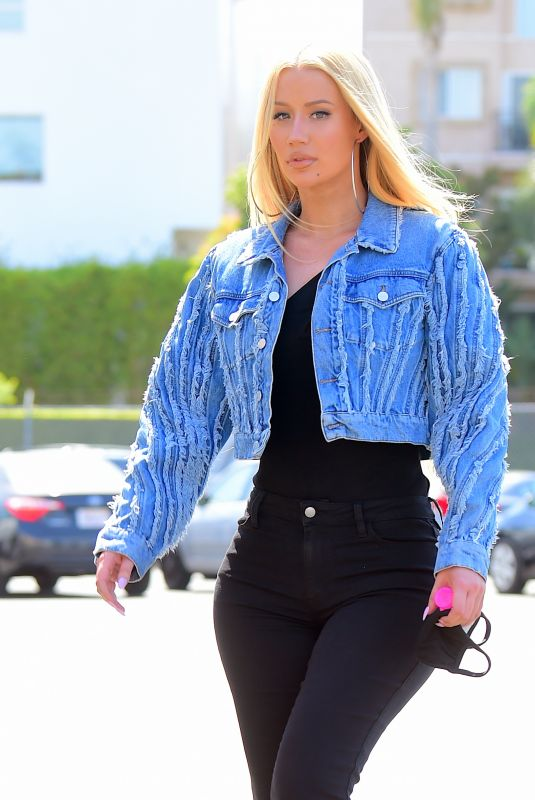 Iggy Azalea Hits the DMV in Style in her First Public Outing Since Revealing She Has Become a Mother