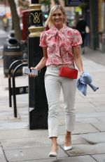 Jenni Falconer Shows Off Athletic Physique Exits Global Radio