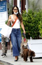 Jordana Brewster Out in Brentwood, California
