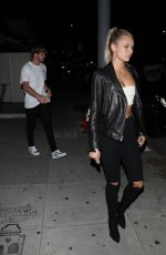 Josie Canseco Leaving the Nice Guy after dinner in Los Angeles