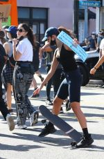 Kaia Gerber, Margaret Qualley, Eiza Gonzalez & Madelaine Petsch At the Black Lives Matter protest in Los Angeles