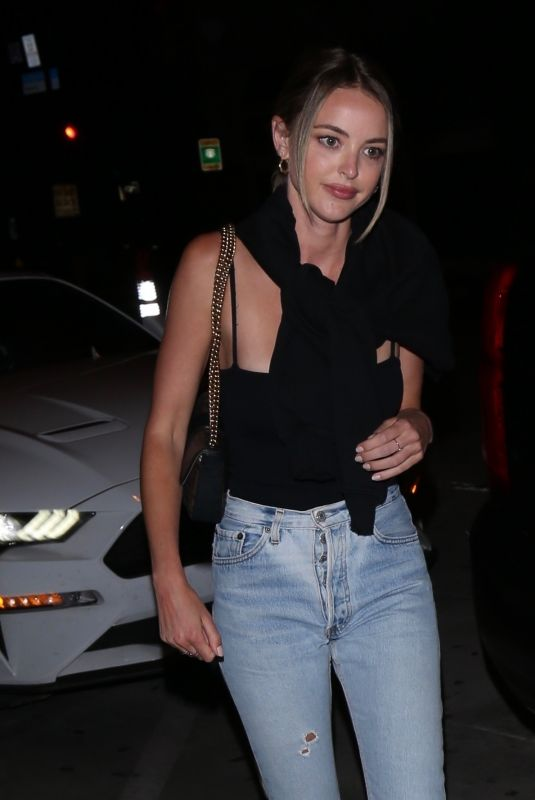 Kaitlynn Carter As she arrives at Catch restaurant in West Hollywood