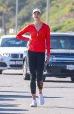 Karlie Kloss Out on a run in Malibu