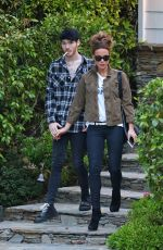 Kate Beckinsale Out with Goody Grace in Pacific Palisades
