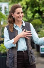 Kate Middleton Visits Fakenham Garden Centre in Norfolk
