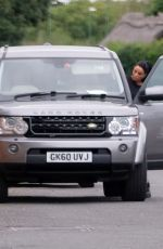 Katie Price Pictured getting into the passenger seat of Al Warrell
