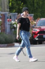 Kelly Osbourne Spotted heading to grab breakfast to go in Studio City