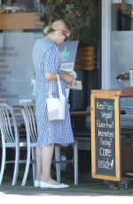 Kelly Rutherford Out with Her Dogs in Santa Monica