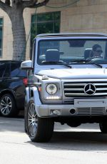 Kendall Jenner Emerges from the gym in Beverly Hills