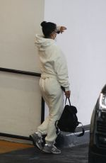 Kourtney Kardashian Spotted leaving a plastic surgeon in Beverly Hills